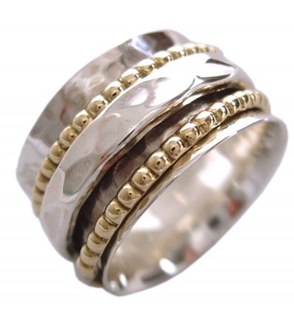 "Energy Stone ""CLARITY"" Meditation Spinning Ring (Sku US01) - CA186QG0E73"