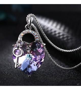 T400 Jewelers Necklace Swarovski Crystals in Women's Pendants