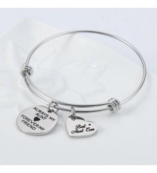 Jewelady Engraved Stainless Expandable Bracelet