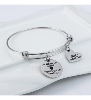 Jewelady Engraved Stainless Expandable Bracelet in Women's Bangle Bracelets