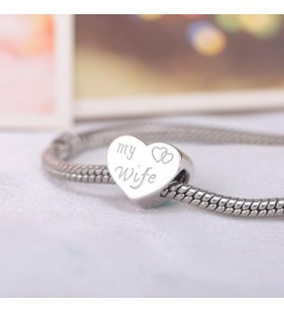 Husband Sterling Bracelets Anniversary Jewelry in Women's Charms & Charm Bracelets