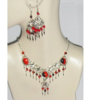 Beautiful Huayruro Seeds Necklace Earrings