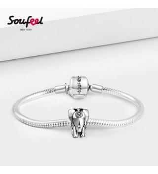 SOUFEEL Elephant Sterling Bracelets Necklaces in Women's Charms & Charm Bracelets