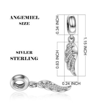 Sterling Silver Dangle European Bracelets