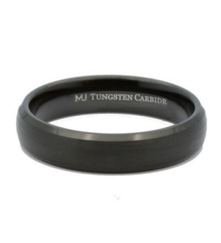 MJ Tungsten Carbide Brushed Polished