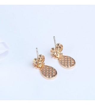 Pineapple Earring Fashion Jewelry Friend in Women's Stud Earrings