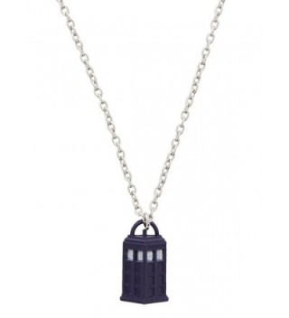 Doctor Who 839546269363 TARDIS Necklace