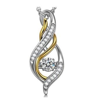 Lettering necklace Sterling Necklaces Swarovski - CJ186S3UTRI