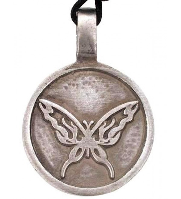 Dan's Jewelers Irish Celtic Monarch Butterfly Pendant- Fine Pewter Jewelry - CZ11176H1L9