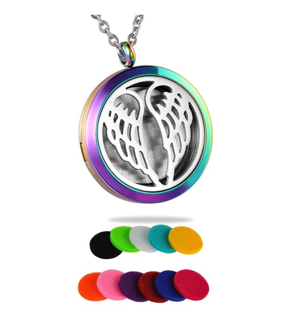 HooAMI Aromatherapy Essential Diffuser Necklace - Multicolor - C312IHNW9MP