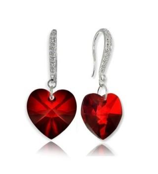 Sterling Earrings Created Swarovski Crystals