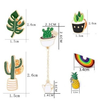 Cute Enamel Lapel Pin Set