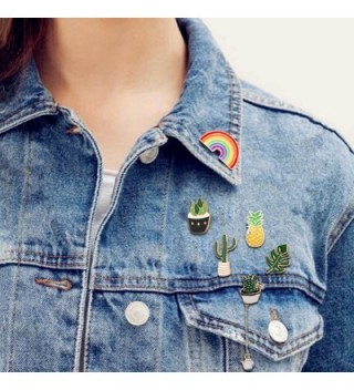 Cute Enamel Lapel Pin Set in Women's Brooches & Pins