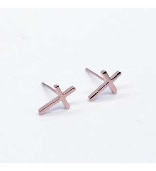 Plated Stainless Steel Earrings RE026