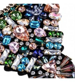 Fashion Handmade Multi color Statement Necklace