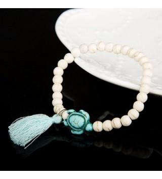 ISHOW Handmade Turquoise Adjustable Bracelet