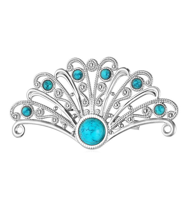 U7 Platinum Synthetic Turquoise Crystal - Platinum - CH12H2X6I9L