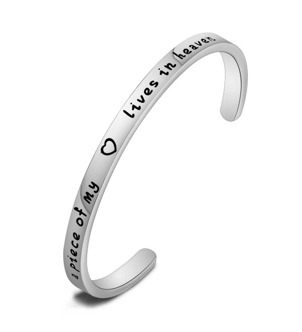 MAOFAED bracelet Personalized Memorial Remembrance - Silver - CJ185XQXYME