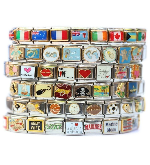 Type 2 Diabetes Medical Alert Italian Charm Bracelet Jewelry Link - CQ118COEPQN