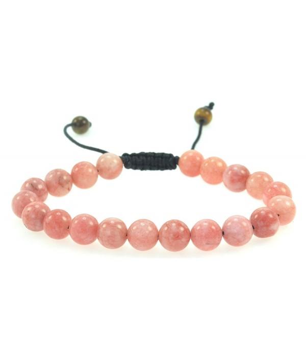 Fashion Cherry Created-Quartz Gemstone Bracelet - Good for Energy and Healing - CK11EN0X0R5