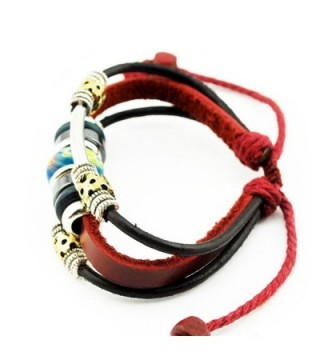 Handmade Tribal Genuine Leather Bracelet