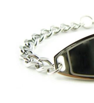 MyIDDr Pre Engraved Customized Allergy Bracelet in Women's ID Bracelets