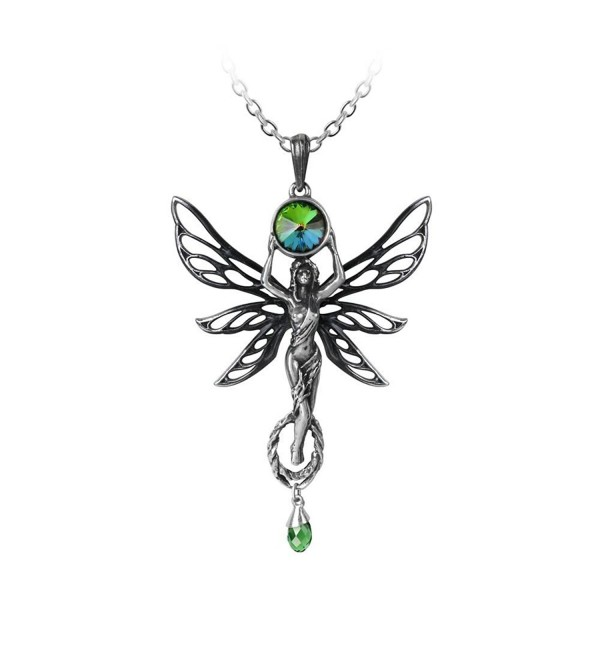 The Green Goddess Pendant by Alchemy Gothic - CZ12DDNZ1AP