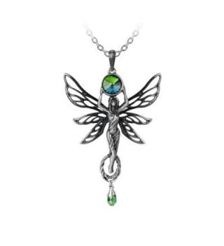 The Green Goddess Pendant by Alchemy Gothic - CZ12DDNZ1AP