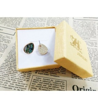 SENFAI Created Abalone Earrings Perfect in Women's Stud Earrings