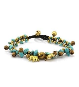 Turquoise Handmade Elephant Fashion JB 0200A - CV11L105SEN