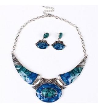 SDLM Vintage Costume Jewelry Necklace