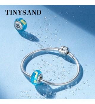 TINYSAND Sterling Crystal Lampwork Bracelets