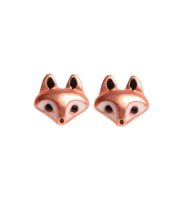 Fox Stud Earrings - C211P69ZI1D
