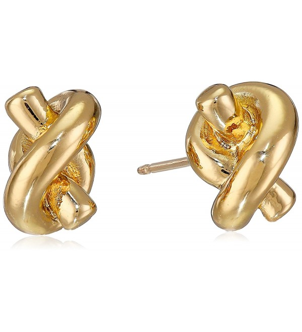 Kate Spade New York Sailor's Knot Stud Earrings - gold - C0116PFULE1